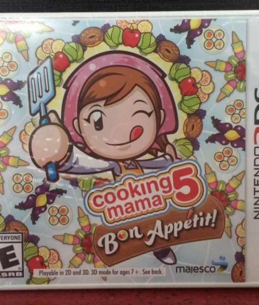 3DS Cooking Mama 5 Bon Appetit game