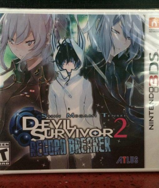 3DS Devil Survivor 2 Record Breaker game