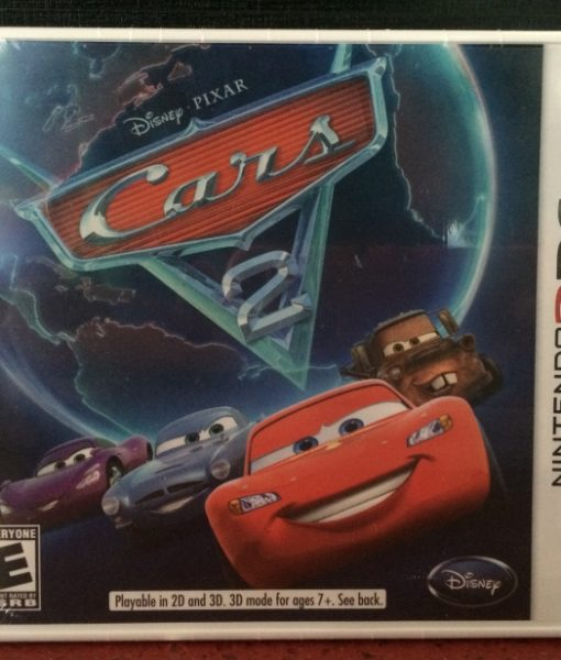 3DS Disney Cars 2 game