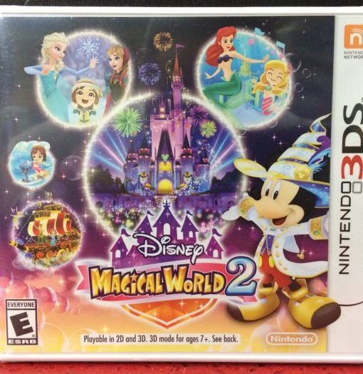 3DS Disney Magical World 2 game