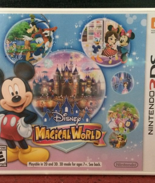 3DS Disney Magical World game