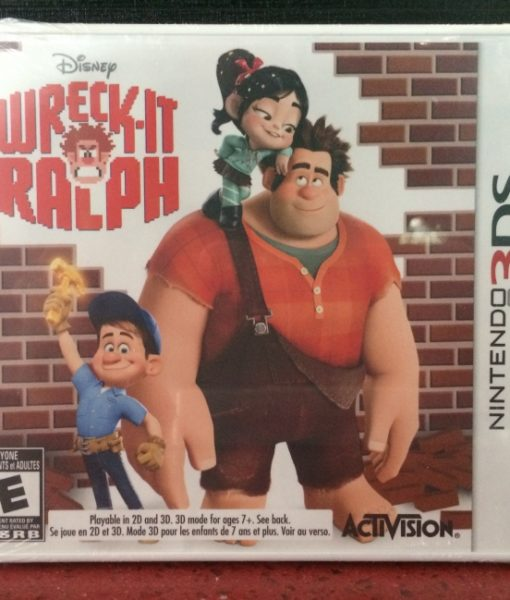 3DS Disney Wreck-it Ralph game