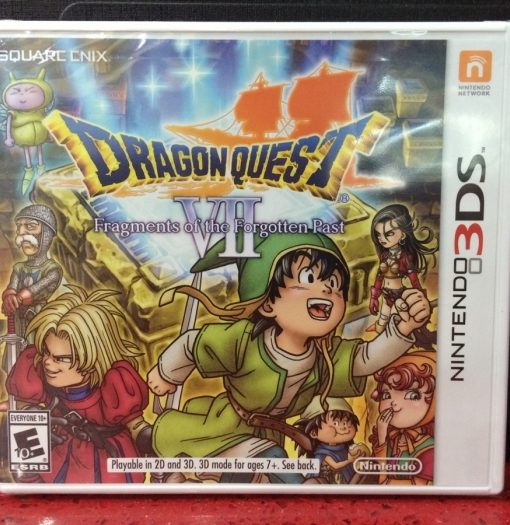 3DS Dragon Quest VII Fragments game