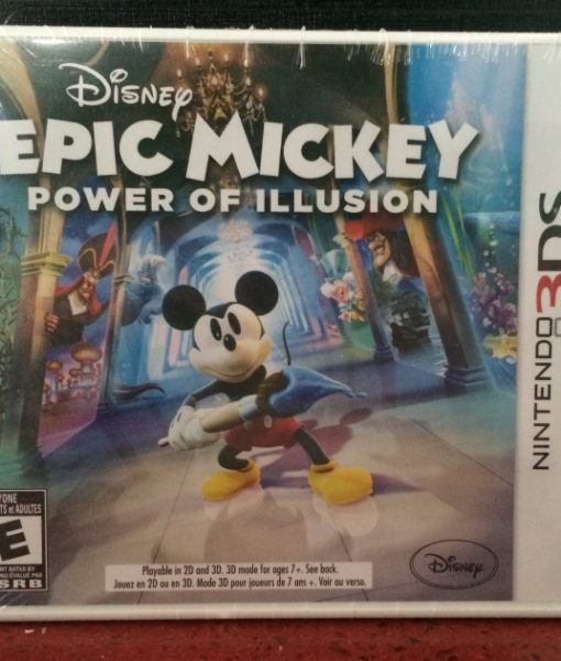 3DS Epic Mickey 2 Power of Illusion game