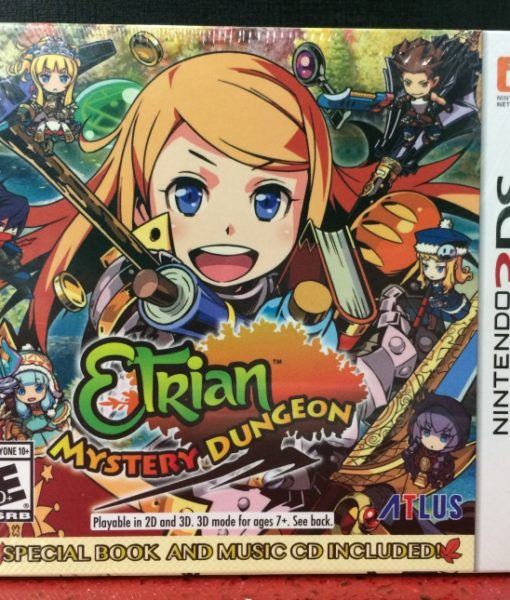 3DS Etrian Mystery Dungeon game