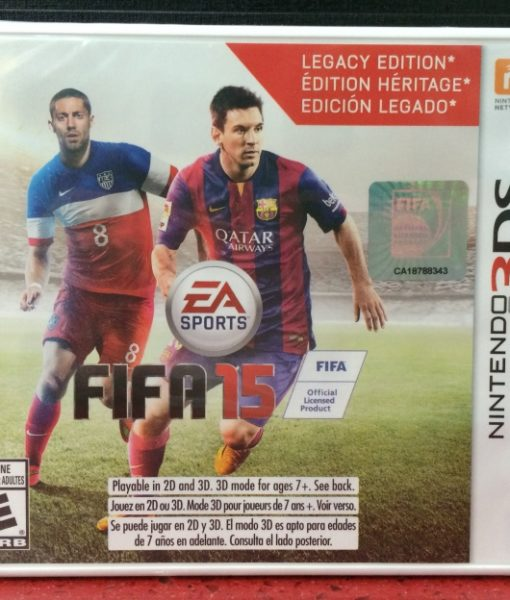 3DS FIFA 15 game