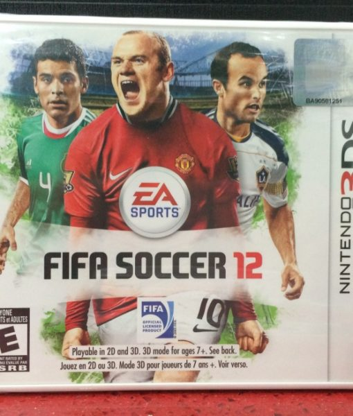 3DS FIFA Soccer 2012 game