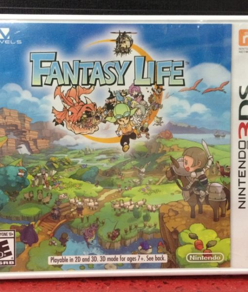 3DS Fantasy Life game