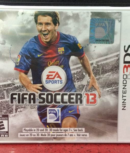 3DS Fifa Soccer 13 game