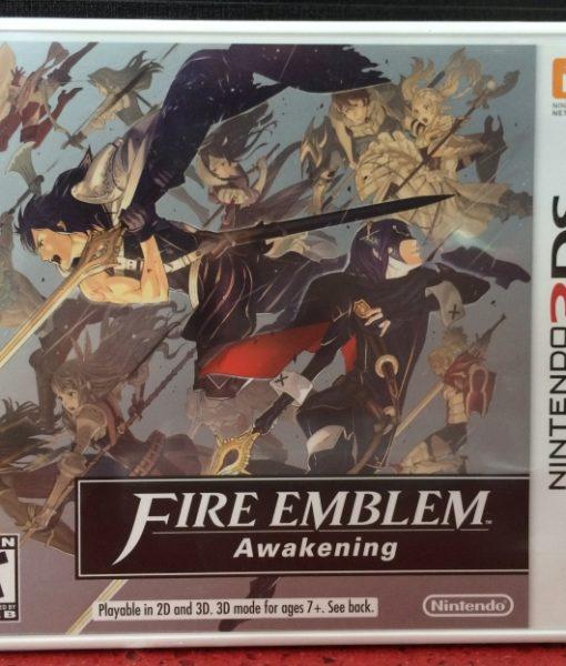 3DS Fire Emblem Awakening game