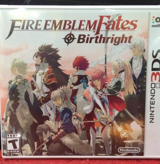 3DS Fire Emblem FATES Birthright game