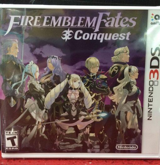 3DS Fire Emblem FATES Conquest game