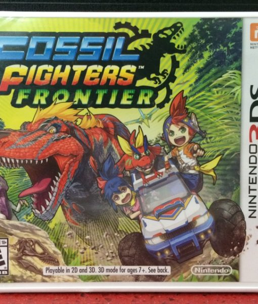 3DS Fossil Fighters Frontier game