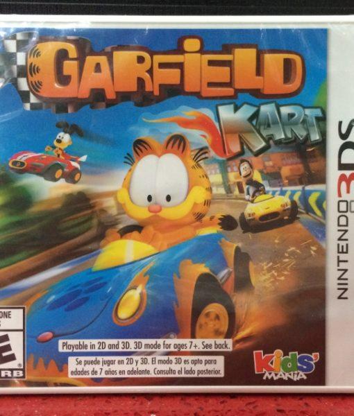 3DS Garfield Kart game
