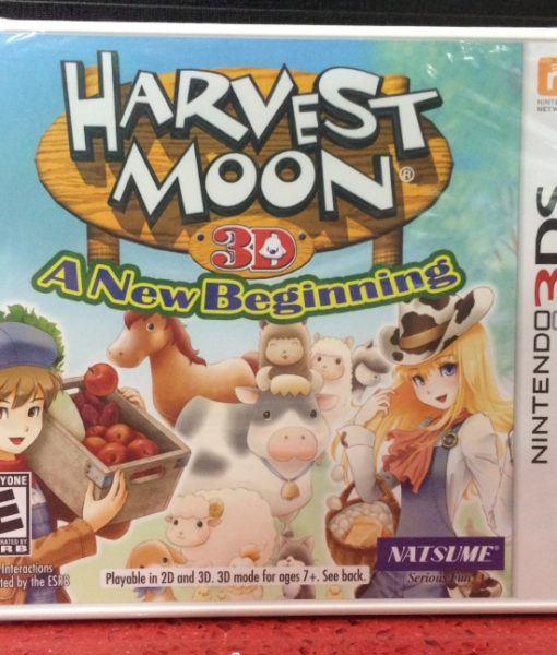 3DS Harvest Moon A New Beginning game