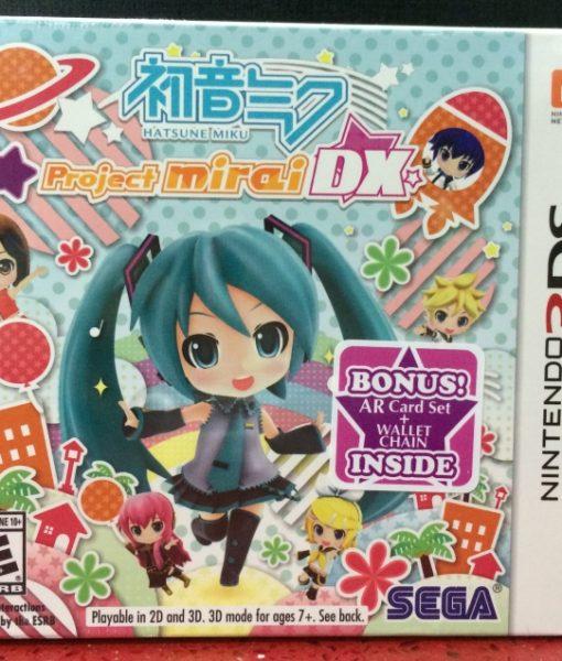 3DS Hatsune Miku Project Mirai DX game