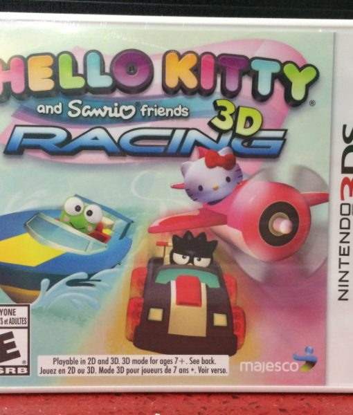 3DS Hello Kitty 3D Racing game