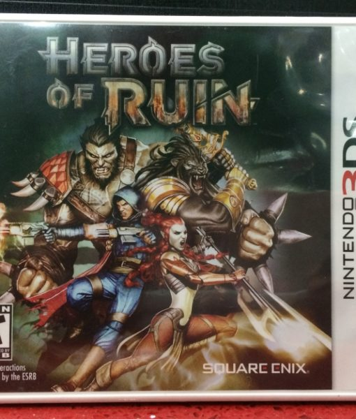 3DS Heroes of Ruin game