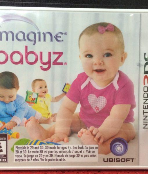 3DS Imagine Babyz game