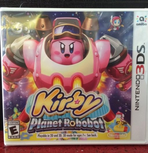 3DS Kirby Planet Robobot game