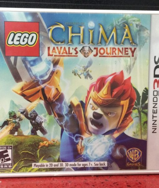 3DS LEGO CHIMA Lavals Journey game
