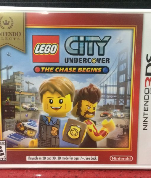 3DS LEGO City Undercover game