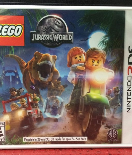 3DS LEGO Jurassic World game