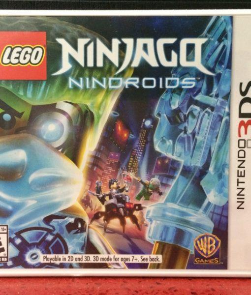 3DS LEGO Ninjago Nindroids game