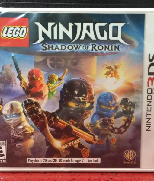 3DS LEGO Ninjago Shadow of Ronin game