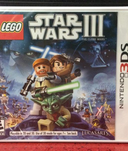 3DS LEGO Star Wars III Clone Wars game