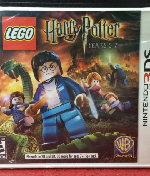 3DS Lego Harry Potter 5-7 game
