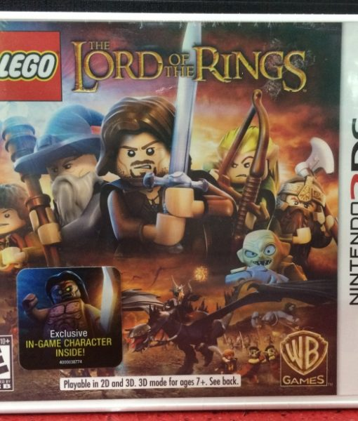 3DS Lego Lords of the Rings game