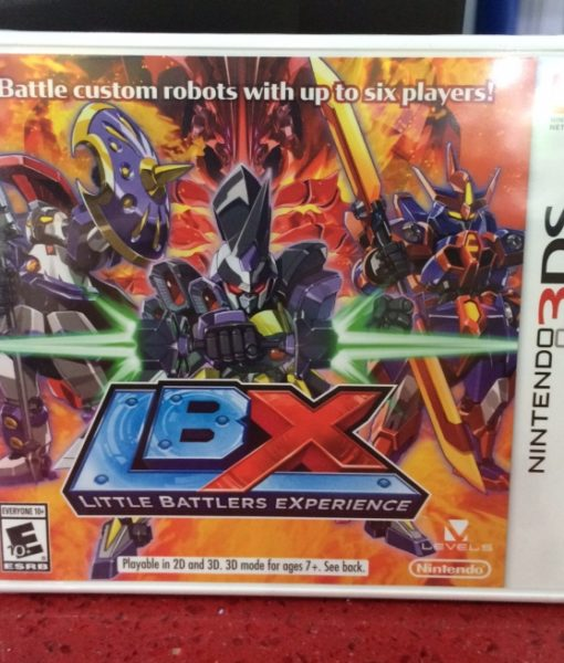 3DS Little Battlers Experience game
