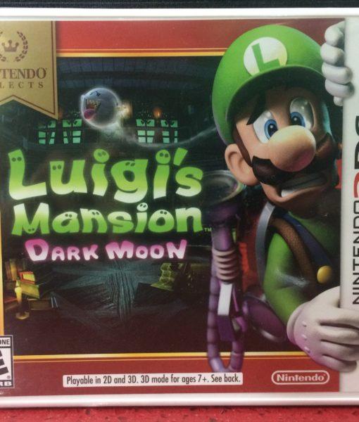 3DS Luigis Mansion Dark Moon game