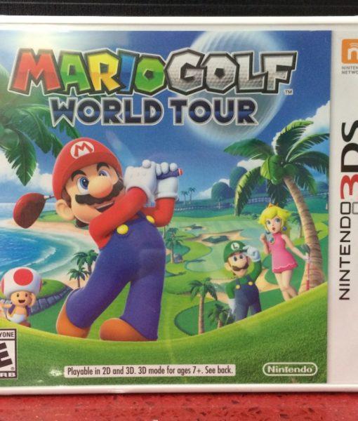 3DS Mario Golf World Tour game