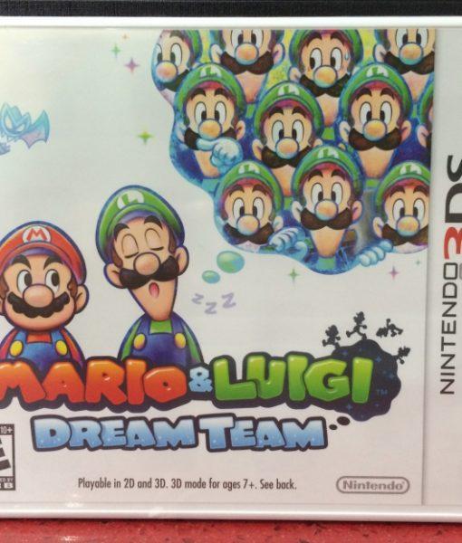 3DS Mario Luigi Dream Team game