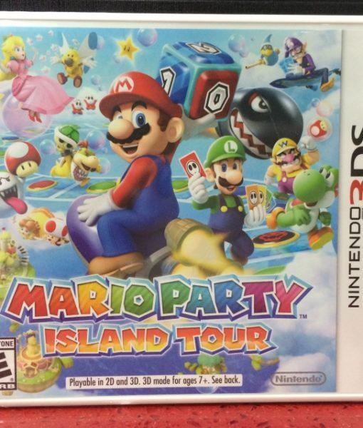 3DS Mario Party Island Tour game
