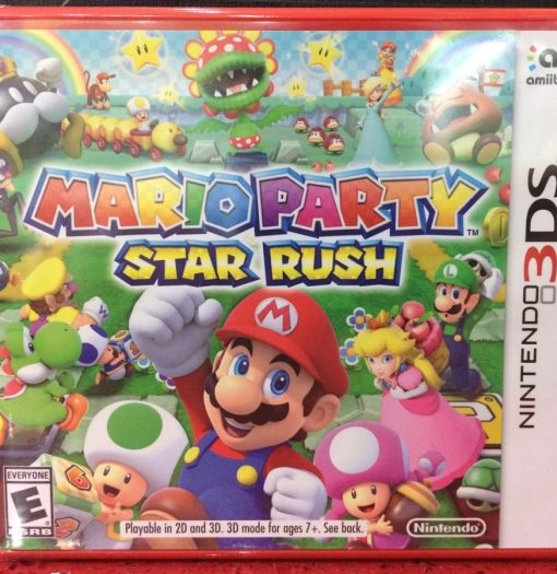 3DS Mario Party Star Rush game