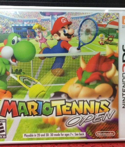 3DS Mario Tennis Open game
