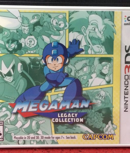 3DS Megaman Legacy Collection game