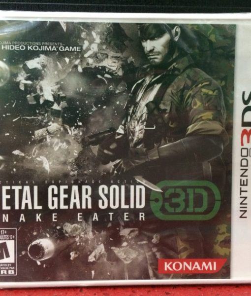 3DS Metal Gear Solid game