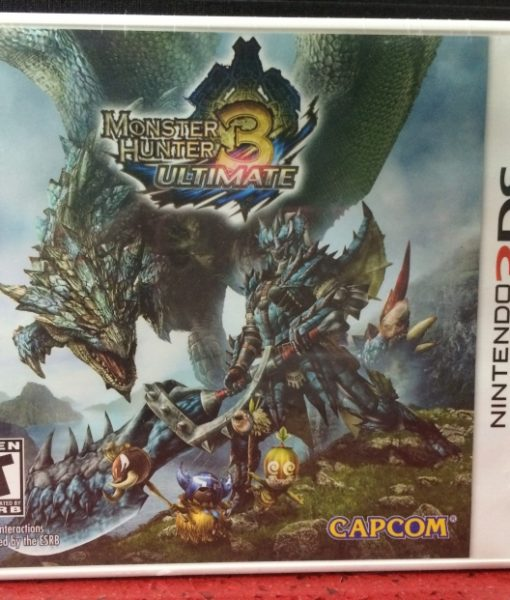 3DS Monster Hunter 3 Ultimate game