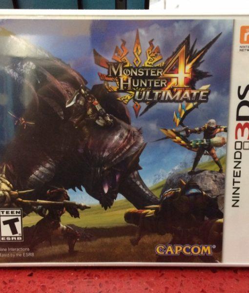 3DS Monster Hunter 4 Ultimate game