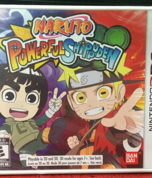 3DS Naruto Powerful Shippuden game