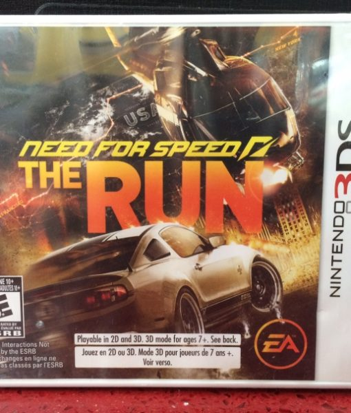 3DS Need for Speed The Run game