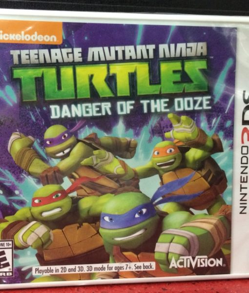 3DS Nickelodeon Ninja Turtles Danger Ooze game