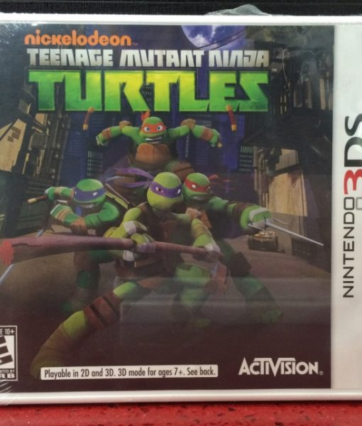 3DS Nickelodeon Turtles game