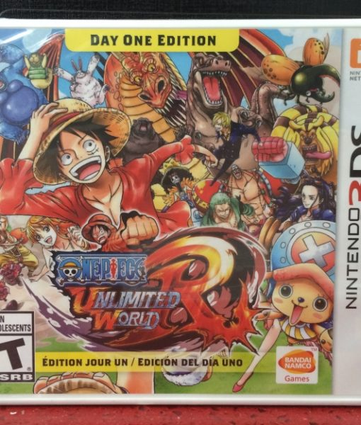3DS One Piece Unlimited World RED game