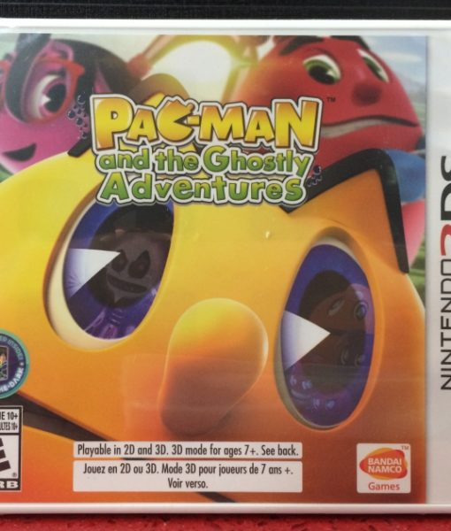 3DS Pacman Ghostly Adventures game