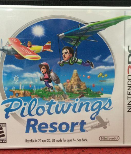 3DS PilotWings Resort game